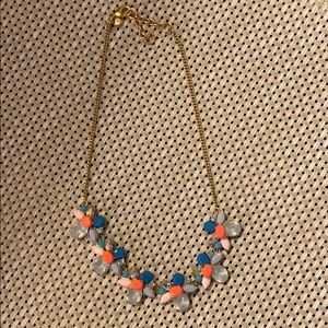 J.Crew Stone Cluster Statement Necklace